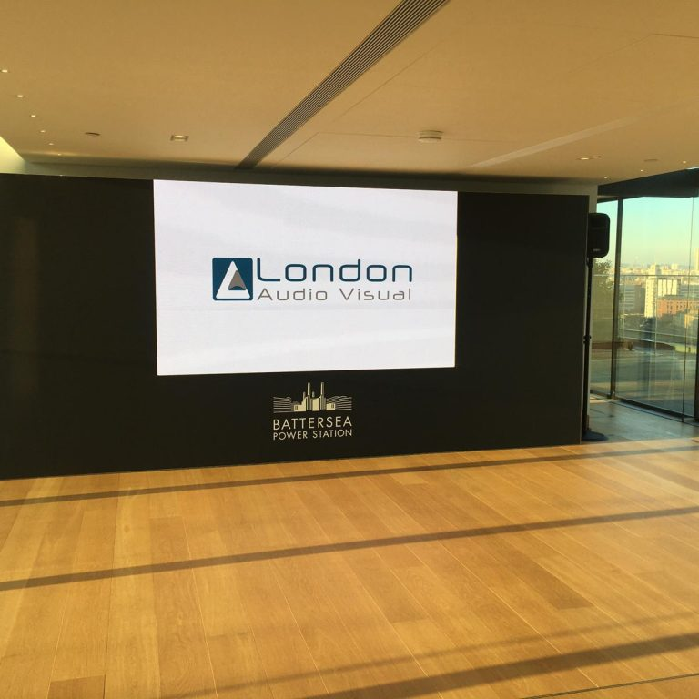Battersea Power Station Property Launch using our LED Wall