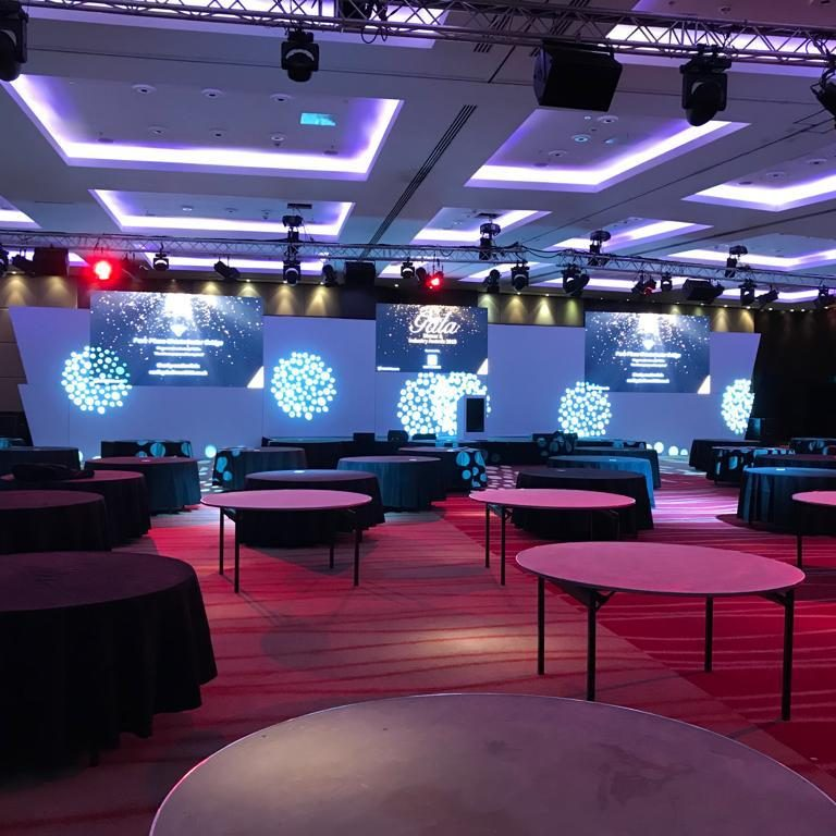 LED Walls Used For Large Conferance In London