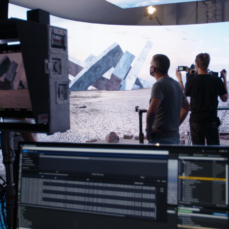 The Virtual Production For Film Using LED Screens